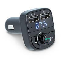 Автомобильный ФМ Bluetooth модулятор FM трансмиттер для авто в машину 2xUSB PROTECH ORIGINAL 3.1 A, (Оригинал)