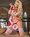 Новогодняя накидка снегурочки, фото 3