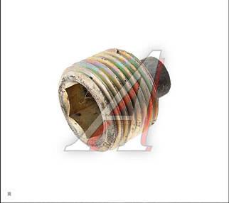 Пробка КПП сливная Волга, Газель с магнитом резьба ф21мм высота 15мм (пр-во Россия) М 0880323
