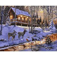 Картина по номерам Сказочный пейзаж, 40x50 см., Babylon VP1003 Городской пейзаж, дома