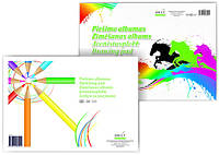 Альбом-склейка для эскизов А4, 120г/м2, 30л, Smiltainis