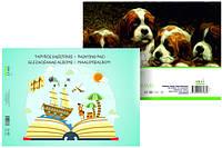 Альбом-склейка для акварели А4, 190г / м2, 10л, Smiltainis