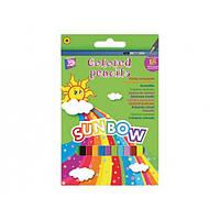 """Карандаши цветные """"Sunbow"""", 18 цветов"""