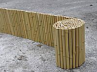 Забор бамбуковый 0,3х3м бордюр