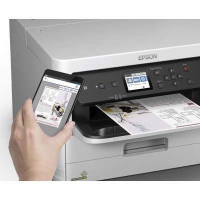 Струйный принтер EPSON WorkForce Pro WF-C5290DW с Wi-Fi (C11CG05401) 8