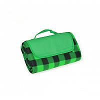 Плед (коврик, подстилка) Picnic для пикника непромокаемый, зеленый