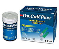 Тест-полоски ACON On Call Plus 50 шт., ac-6