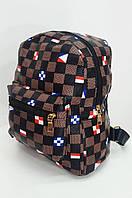 Рюкзак коричневый 28 x 22 x 15 AAA 006