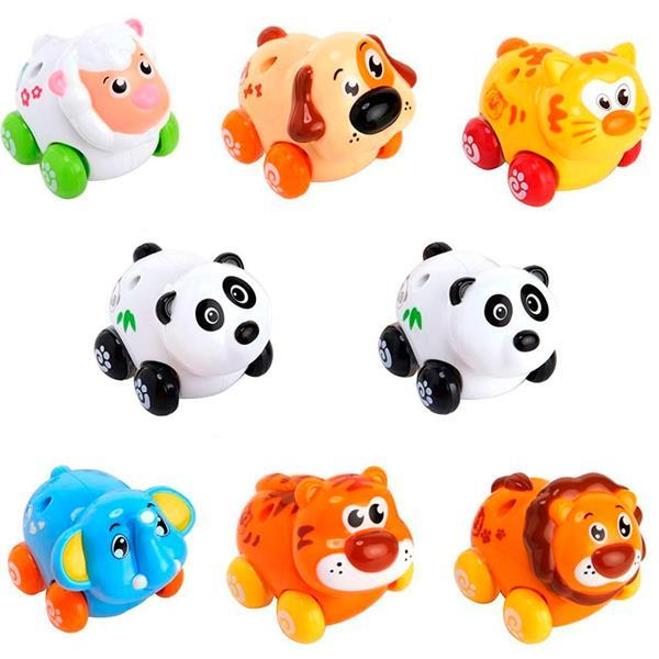 Купить Товары для детей, Игрушка Hola Toys Веселый зоопарк 8 шт. (376)