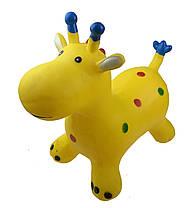 Прыгун жираф (Розовый) / Прыгун для детей, фото 3