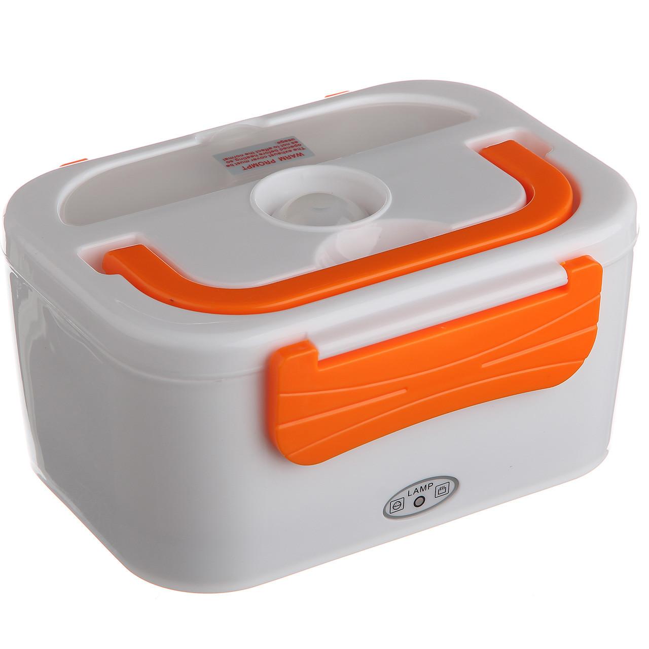 Автомобильный ланч бокс с подогревом Lanch Box Оранжевый