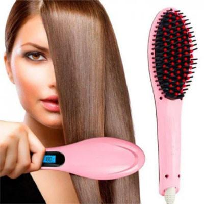 Выпрямитель расческа Fast Hair Straightener