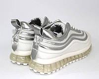 Белые кроссовки женские для спорта, фото 1