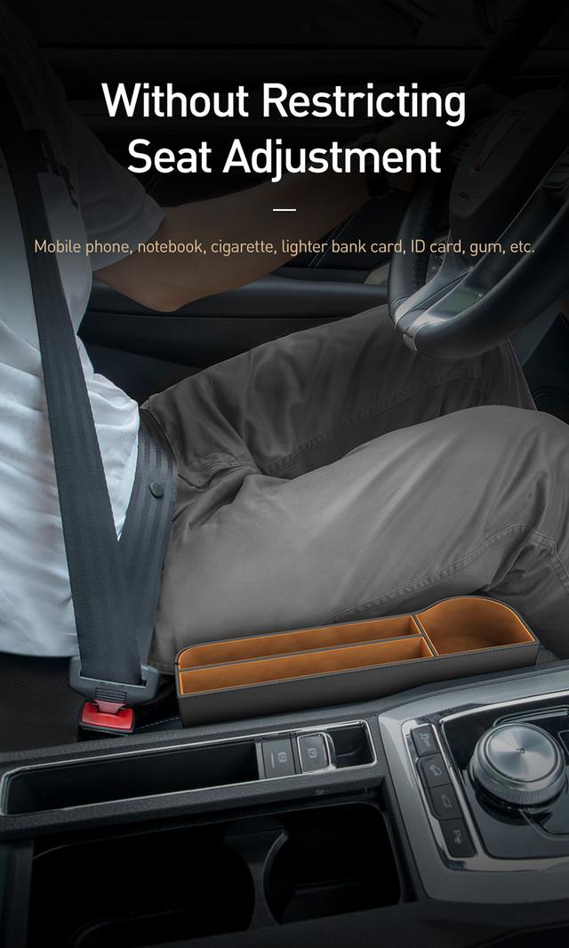 Автомобильный органайзер Baseus Elegant Car Storage Box CRCWH-01 Черный