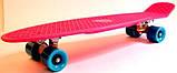 """Скейт скейтборд пенни борд Nickel 27"""" розовый, фото 2"""