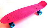 """Скейт скейтборд пенни борд Nickel 27"""" розовый, фото 3"""