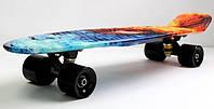 """Пенни борд скейт Nickel 27"""" fire & ice, фото 1"""