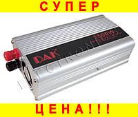 Преобразователь напряжения 12V-220V 1500 W (инвертор)