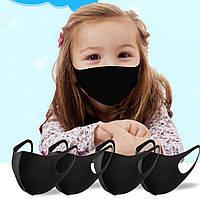 Детская защитная маска на лицо, респиратор для детей (различные цвета)