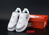 Кроссовки мужские Nike Air Force 1 в стиле Найк Аир Форс 1 белые