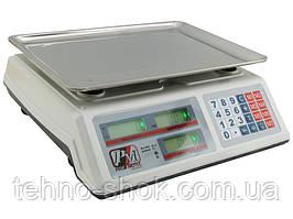 Весы торговые электронные Promotec PM 5051 со счетчиком цены до 50 кг