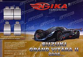 Авточехлы Suzuki Grand Vitara II 2005- Nika