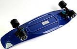 """Скейт скейтборд пенни борд Nickel 27"""" fish синий, фото 7"""