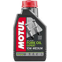 Масло вилочное MOTUL Fork Oil Expert Medium SAE 10W 1л. 105930/822201