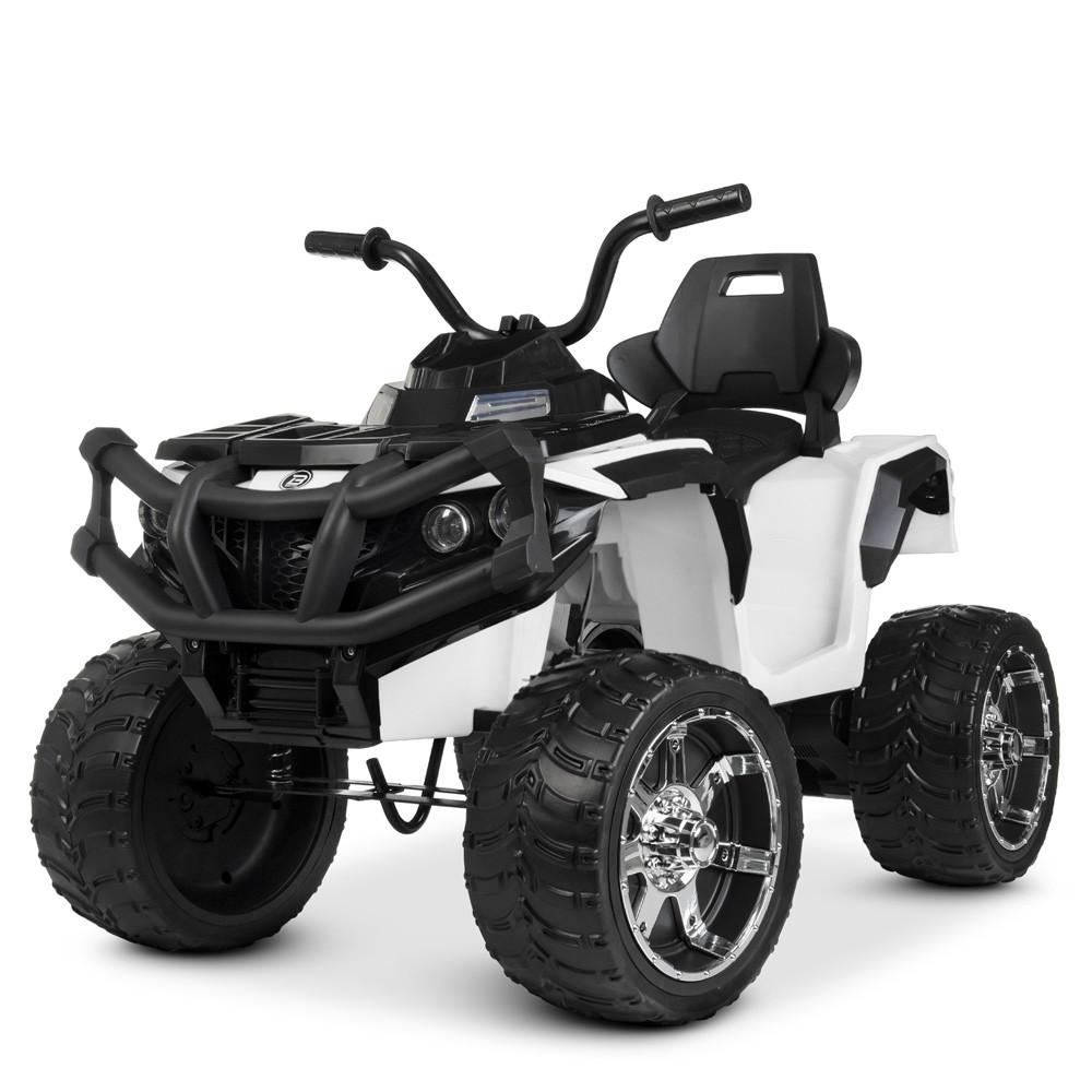 Детский электромобиль квадроцикл Bambi M 4266EBLR-1 белый