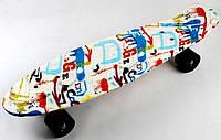 "Пенні борд скейт Nickel 27"" multicolor, фото 1"