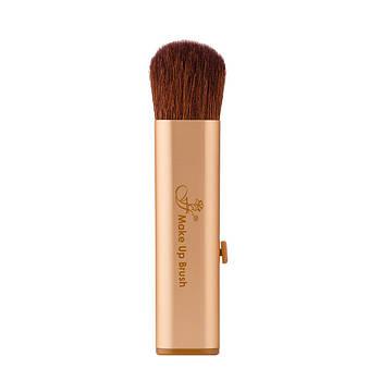 Кисть для макияжа FFleur  Gold BR-03