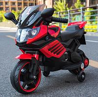 Детский электромотоцикл музыкальный Minimoto LQ 158 красный