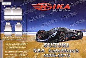 Авточехлы Suzuki SX4 2006-2013 Nika