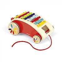 Іграшка-каталка Janod Ксилофон (J05380)