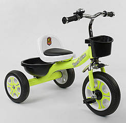 "Велосипед 3-х колёсный LM-3109 ""Best Trike"" САЛАТОВЫЙ 87774"
