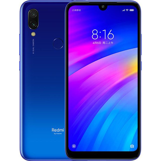 Смартфон Xiaomi Redmi Note 7 4/64Gb (Neptune Blue) Global Version