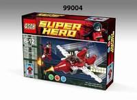 """Конструктор """"Супергерои"""" 74дет. 19*14*3,5 см. /336-2/(99004)"""