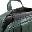 Городской рюкзак из натуральной кожи Piquadro Kobe синий на 10л, фото 5