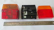Ліхтар задній, причіп, б/л, 12В, 92x98x47 Ф-400 (Без відбивача)