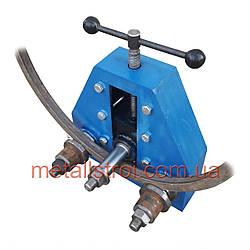 Механічний трубогиб ТПВ-1 з виносними валами. Ручний профилегиб