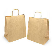 Пакет паперовий крафт з ручками 380*320*150
