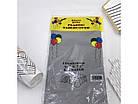 Скатерть полиэтиленовая серая 137х183 см, фото 2
