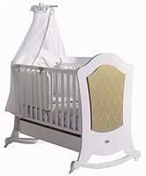 Кроватка Micuna Alexa Relax 140х70 White-Gold