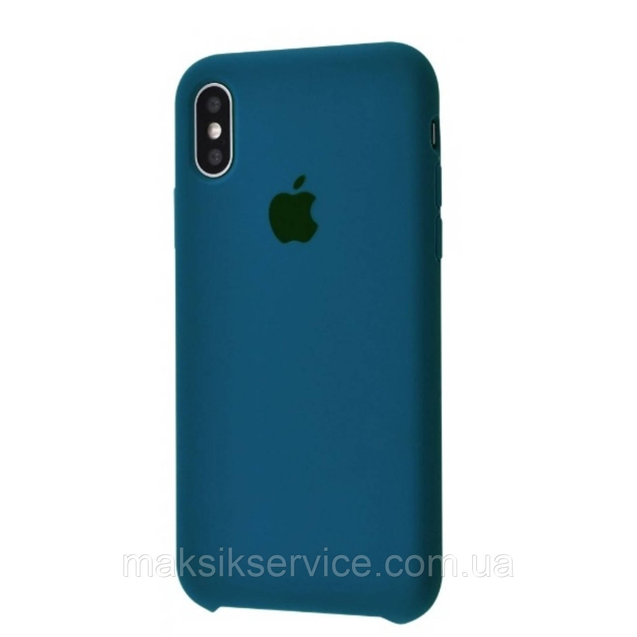 Чехол Silicone Case iPhone X/Xs cosmos blue