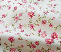 Ткань для штор в стиле прованс ,ткань с цветочным принтом