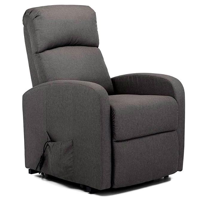 Подъёмное кресло с одним моторами, LANTA (серое)