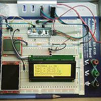 РК LCD 2004 20х4 модуль дисплей Arduino - жовта/зелена підсвітка, фото 1