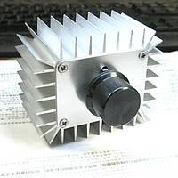 Мощный электронный регулятор напряжения,мощности AC 220V Диммер 5000Вт