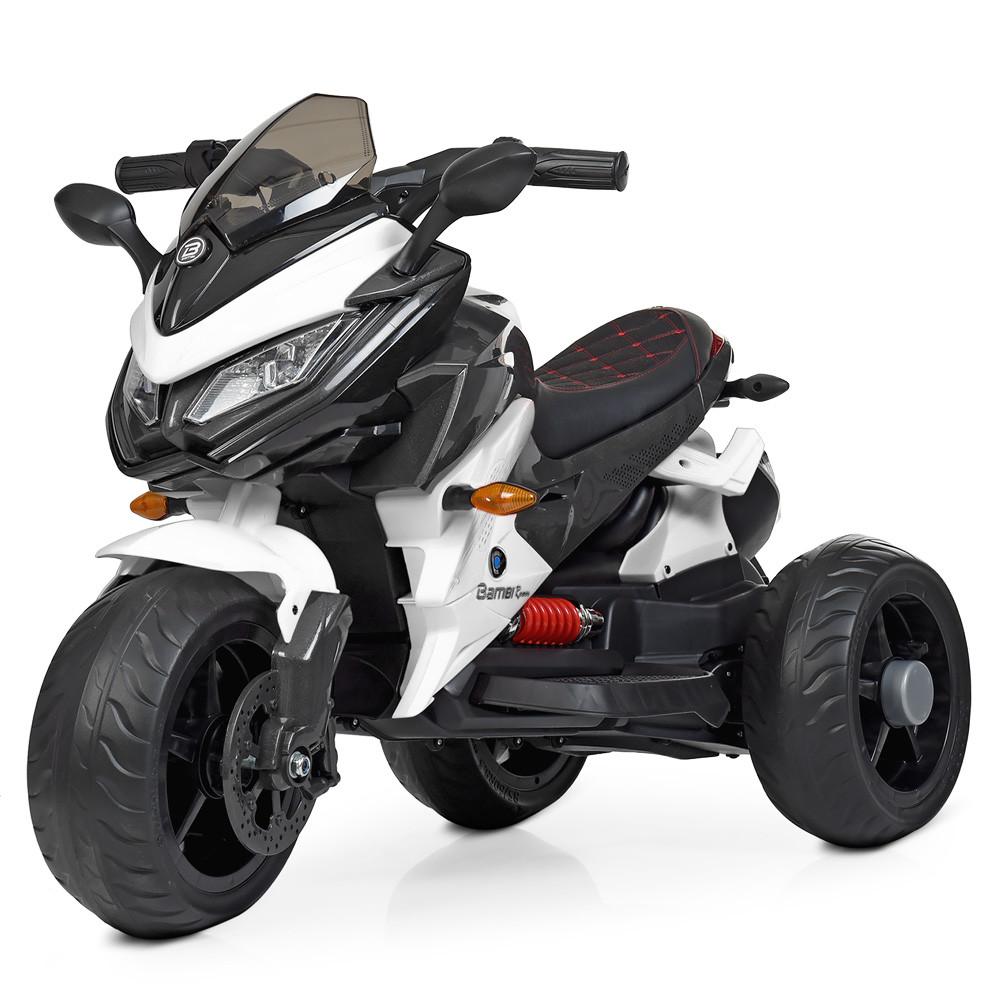 Детский электромобиль мотоцикл Bambi M 4274EL-1 BMW белый
