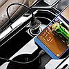 Автомобильное зарядное устройство Hoco Z31 Universe QC3.0 Micro USB 2 USB Port 3.4A Черный, фото 5